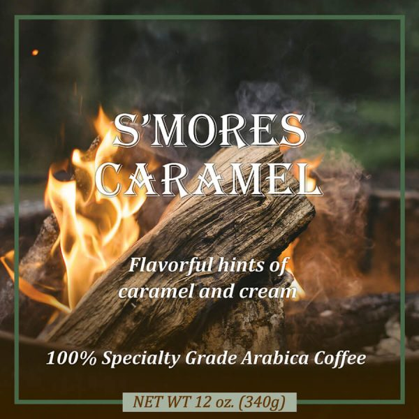 S'mores Caramel Flavored Coffee