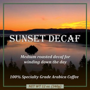 Sunset Decaf