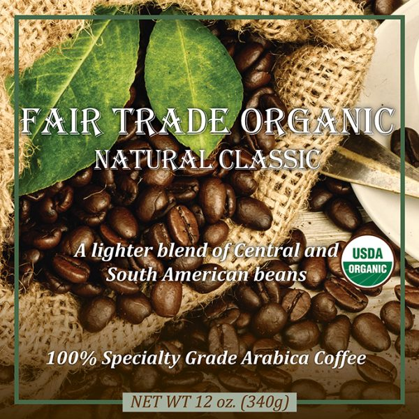 Fair Trade Organic Natural Classic Coffee