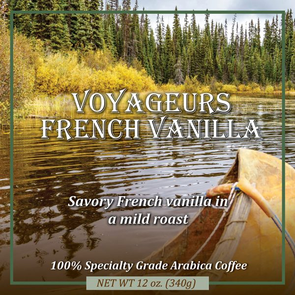 voyageur french vanilla flavored coffee