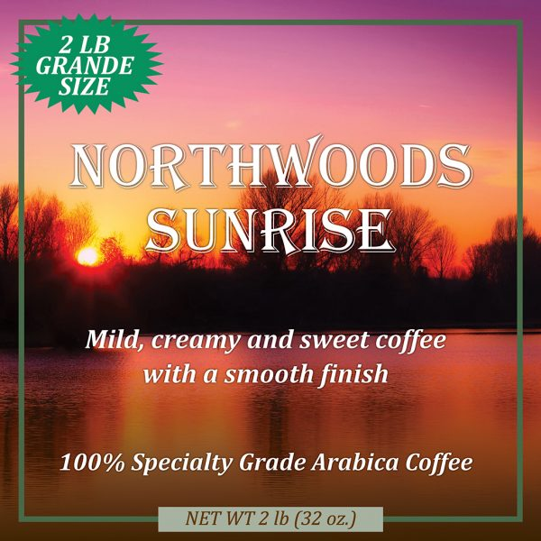 Northwoods Sunrise Coffee Grande