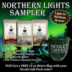 Northern Lights Sampler w/ Mug