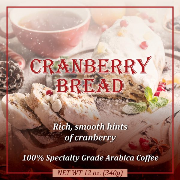 Christmas Cranberry Bread Coffee